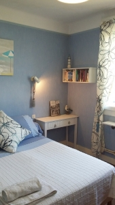 Chambre Bleue L'escale à la Masana Lorient