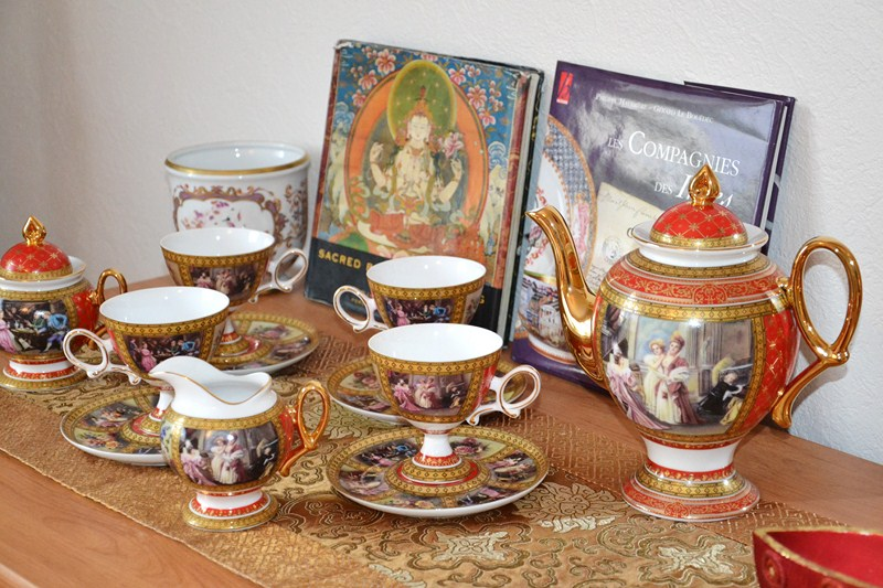 Service à thé chambre Compagnie des Indes