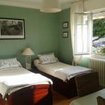Chambre Twin Tabarly la Masana B&B Lorient