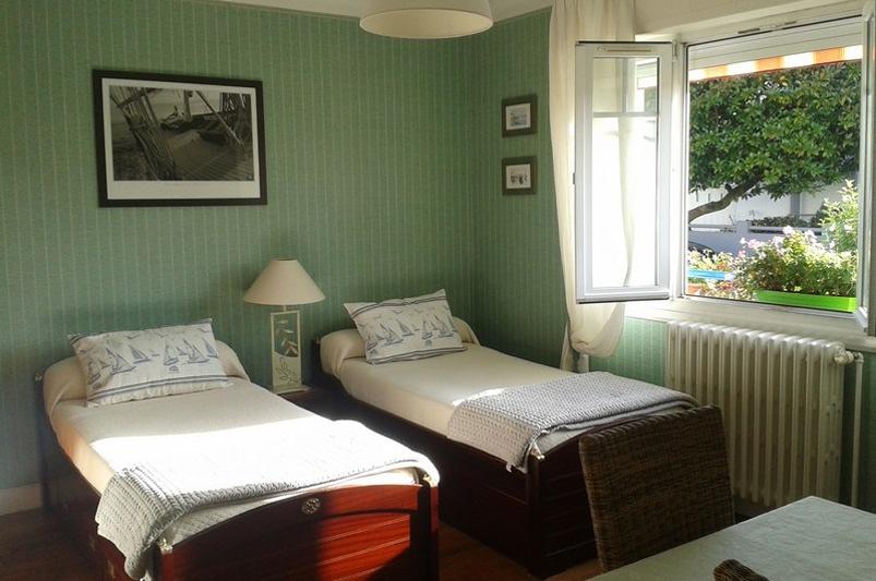 Chambre Twin Tabarly à La Masana Lorient