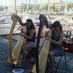 Harpistes Bassin Flots Festival Interceltique Lorient