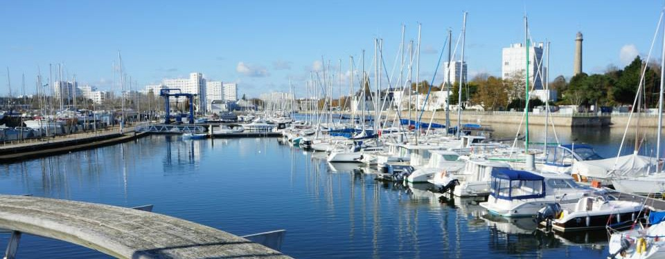 Centre ville Lorient Port Plaisance