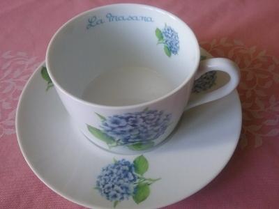 Petit déjeuner porcelaine La Masana