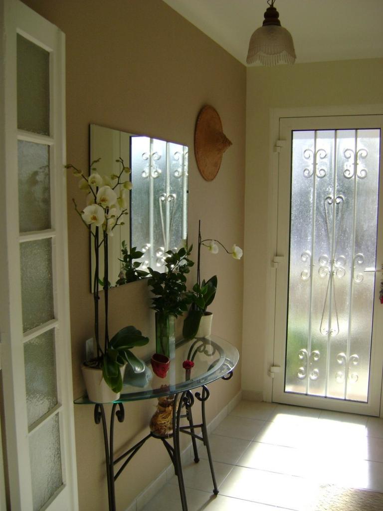 Entrée chambres et table d'hôtes La Masana